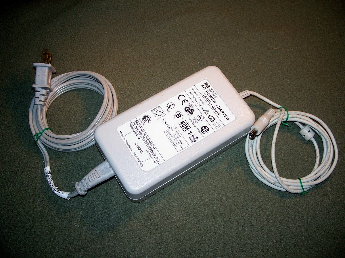 HP DESKJET PRINTER AC POWER ADAPTER � C6409-60014
