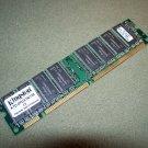 Kingston KTD OPGX1N 128 128MB SDRAM Non parity 168 pin DIMM