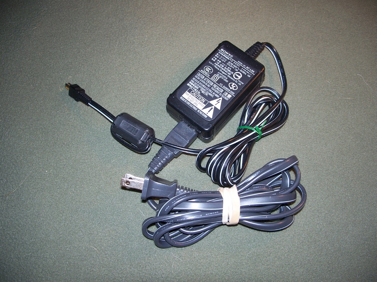 Genuine Sony AC-LS5 AC adapter for Cyber Shot Cameras