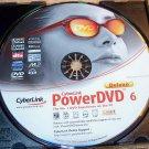 CYBERLINK POWERDVD 6 DELUXE PC W/ SERIAL SOFTWARE