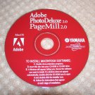 ADOBE PAGE MILL 2.0 & ADOBE PHOTO DELUXE COMBO CD SOFTWARE MAC