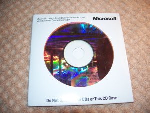 Microsoft Office SMALL BUSINESS EDITION 2003 + BUSINESS CONTACT MANAGER X09-53726 OEM ***MINT***