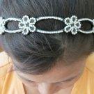 Fashion Style Bling Bling Flower Headband