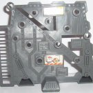 """Wheeled Warriors grey weapons rack from """"Battle Base"""""""