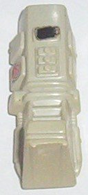 1983 white S.N.AK.E. armor right leg front