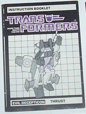 1985 Thrust instruction booklet
