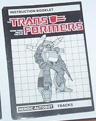 1985 Tracks instruction booklet