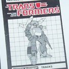 1985 Tracks instruction booklet