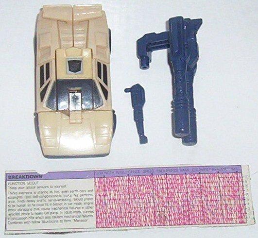 1986 Transformers Stunticon Breakdown