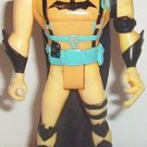 Batman in yellow climbing suit