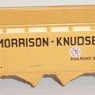 Morrison-Knudsen tender
