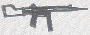 1983 AP M-32 submachine gun