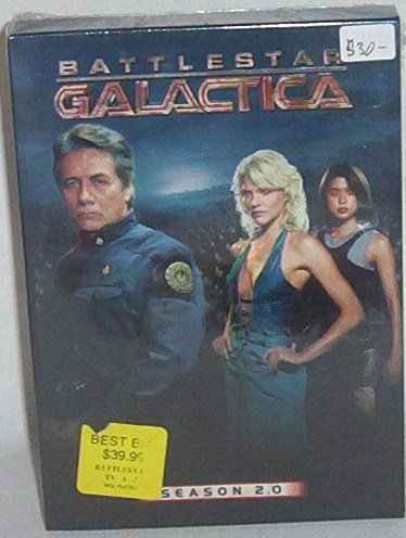 Battlestar Galactica, Season 2.0 DVD set