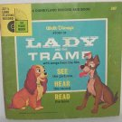 1954 Lady and the Tramp book & record #307
