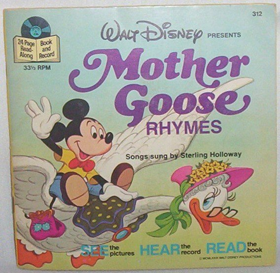 1979 Mother Goose book & record #312