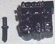 2001 Low Light black back pack & knife