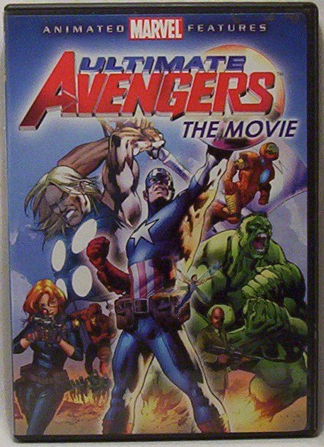 Ultimate Avengers, The movie on DVD