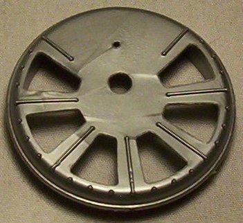 MOTU Blaster Hawk scanner dish mount