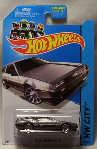 1981 DMC-12 Delorean by Hot Wheels 33/250