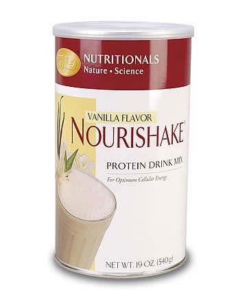NouriShake Drink Mix-Vanilla (19 oz.) single