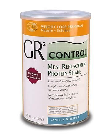 GR2 Control Meal Replacement Protein Shake-Vanilla (18 oz.) single