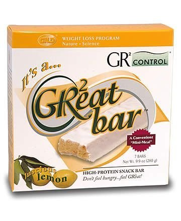 GR2eat Bar-Lushious Lemon (7 bars)