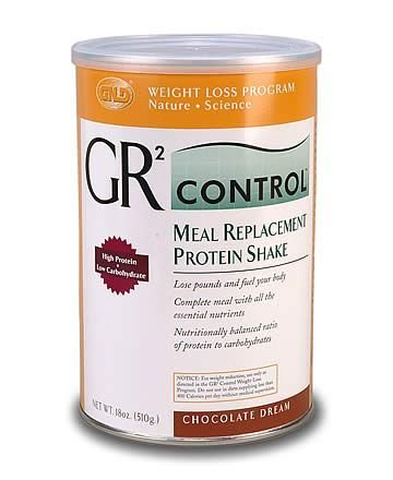 GR2 Control Meal Replacement Protein Shake-Chocolate (18 oz.) case, Qty.6