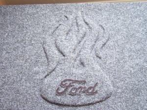 "Dual 12"" Ford  2 Speaker Box"