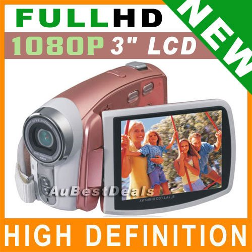 "1080P SUPER HD 3"" VIDEO CAMERA DIGITAL CAMCORDER AV-OUT"