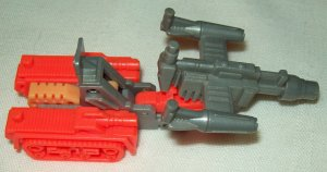 Hasbro Transformers G1 Action Master Grimlock tank