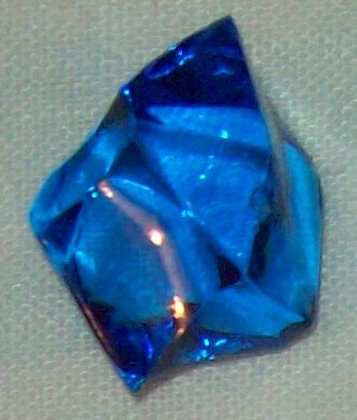Blue Kryptonite or Light Element for your DC Figures