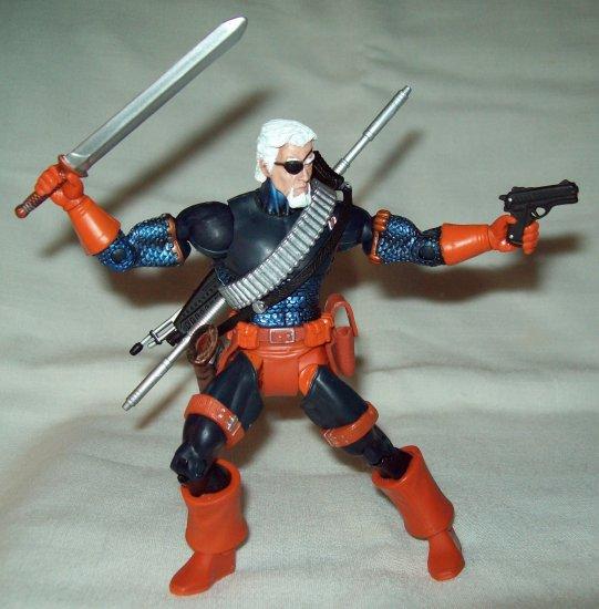 Mattel DC Universe Classics wave 3 Deathstroke unmasked variant