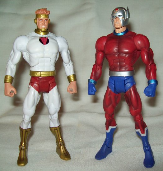 "Mattel DC Universe Classics Toys-R-Us exclusive ""New Gods"" 2-pack Lightray & Orion"