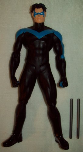 DC Direct Hush Series 2 Nightwing including Escrima sticks