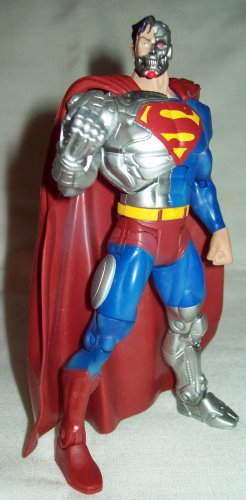 Mattel DC Superheroes series 6 Cyborg Superman figure