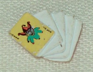 Mattel DC Universe Classics wave 10 Joker playing cards accessory
