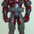 Hasbro G.I. Joe 2002 Cobra Moray (dark red/maroon)