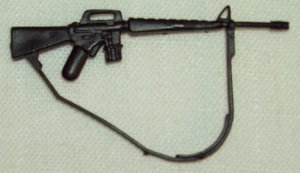 Hasbro G.I. Joe 1989 Slaughter's Marauders Footloose rifle