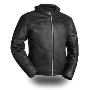 """First Classics Men's Leather """"Street Cruiser"""" Motorcycle Jacket FIM248CCBZ"""