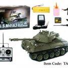 Radio Control RC Electric US M41A3 Walker Bulldog Battle Tank