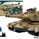 "Radio Control RC Electric Giant 32"" Military Battle Tank, Shots Airsoft Ammo"