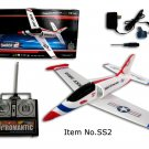 Radio Control RC Super Sonic Saber 2 Red Arrow Airplane