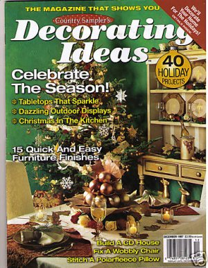 Country Sampler 39 S Decorating Ideas Christmas Holiday