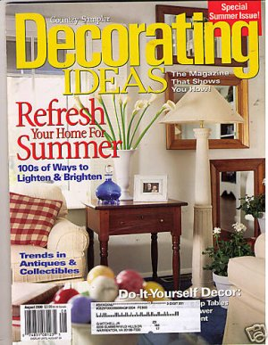 country sampler magazine decorating ideas