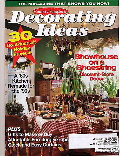 Country Sampler Christmas Decorating Ideas : Country sampler s decorating ideas holiday christmas