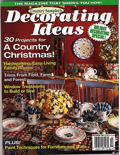 Country Sampler Christmas Decorating Ideas : Country sampler s decorating ideas christmas dec