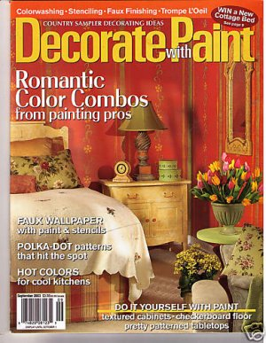 Country Sampler 39 S Decorating Ideas Decorate With Paint
