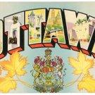 OTTAWA, Canada large letter postcard