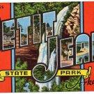 PETIT JEAN STATE PARK, Arkansas large letter postcard Kropp