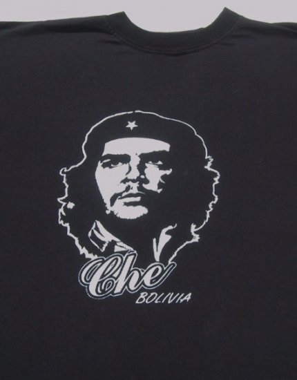 CHE GUEVARA - BOLIVIA - ADULT size LARGE T-SHIRT